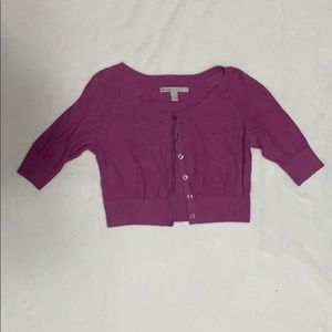 Old Navy Pastel Purple Cropped Sweater XSmall